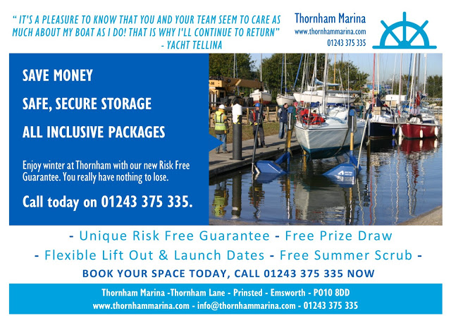Winter Packages Available at Thornham Marina