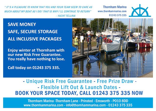 Winter Storage at Thornham Marina 2017