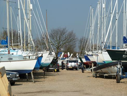Boats Ashore at Thornham M